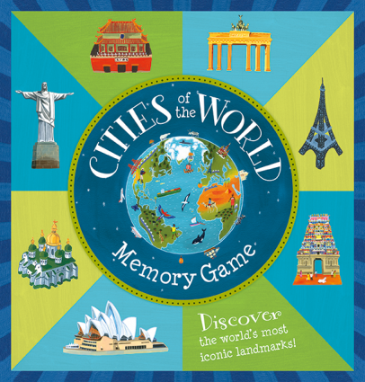 Cities of the World Memory Matching Game