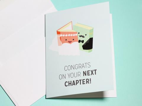 Congrats on Your Next Chapter Card