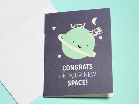 New Space Card