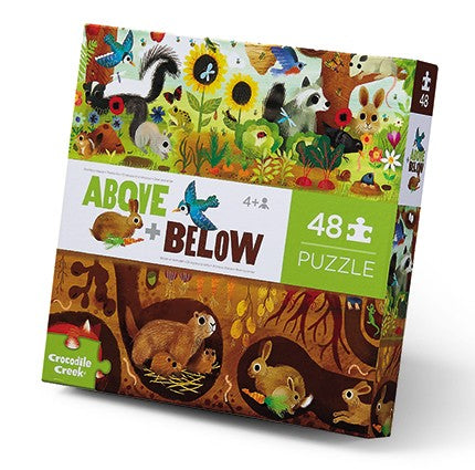 Above & Below Floor Puzzle - Backyard Discovery