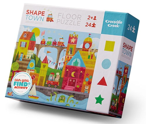 Shape the Town Floor Puzzle