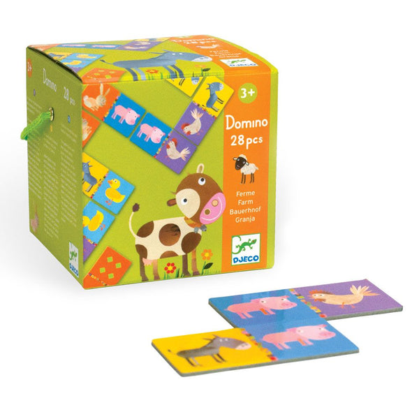 Farm Animals Dominos