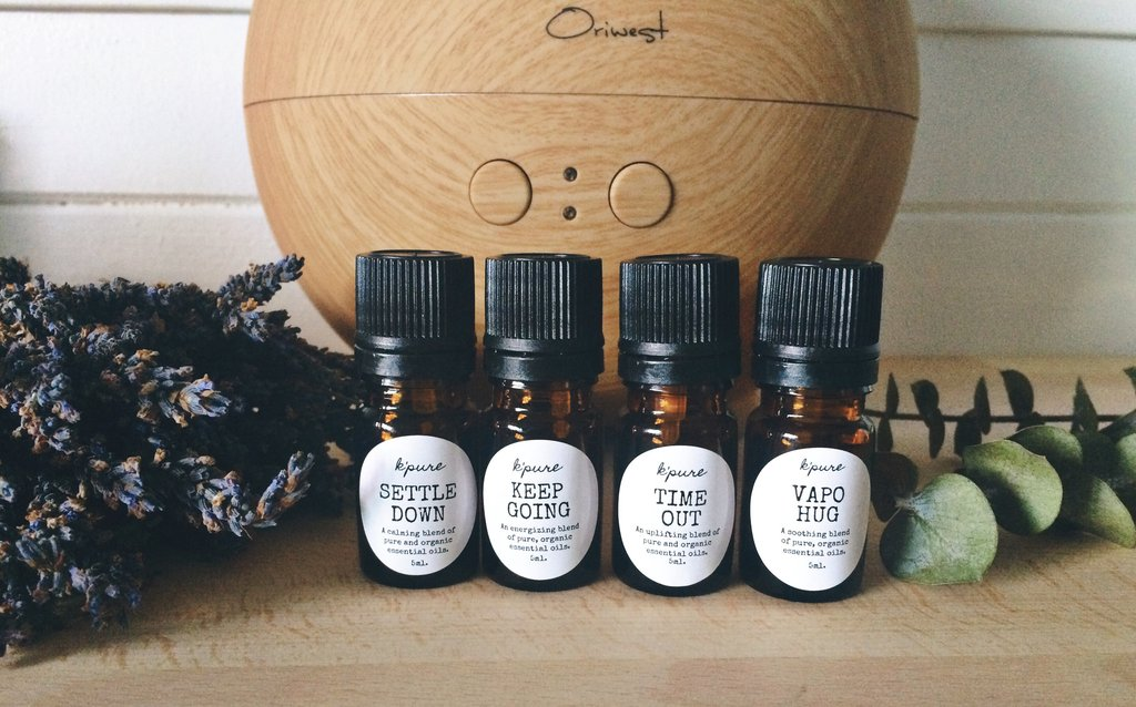 Organic Essential Oil Diffuser Blends