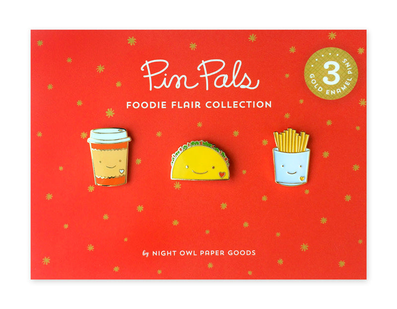 Foodie Flair Pin Pals Gift Set