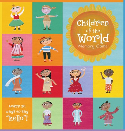 Children of the World Memory Matching Game