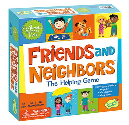 Friends and Neighbours Cooperative Game