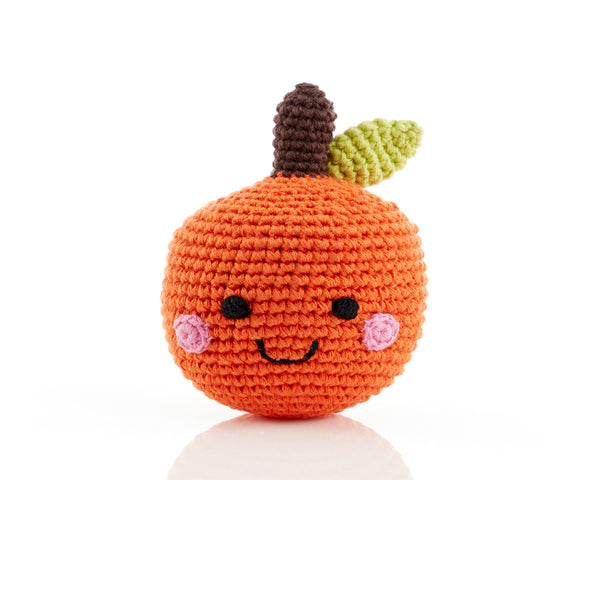 Friendly Crochet Fruit Rattles
