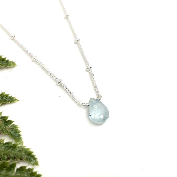 Silver Linnaea Necklace - Apetite