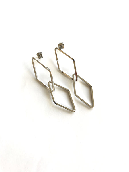 Celeste Silver Earrings