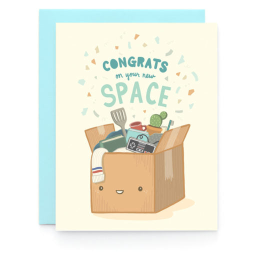 New Space Congrats Card