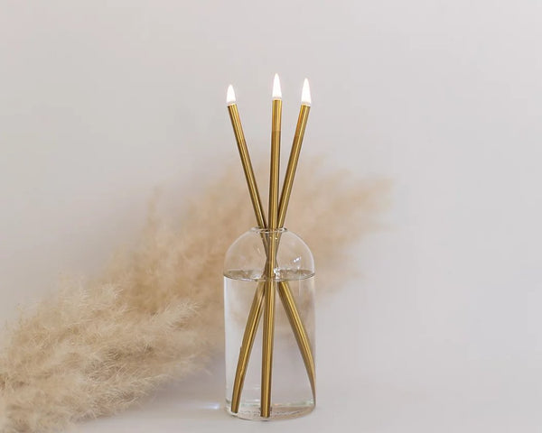 Everlasting Candles - Gold