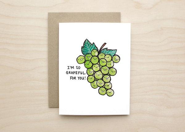 Grapeful Card
