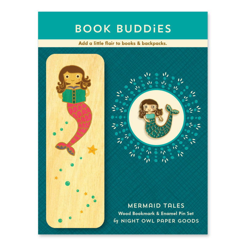 Book Buddies Gift Set - Mermaid Tales