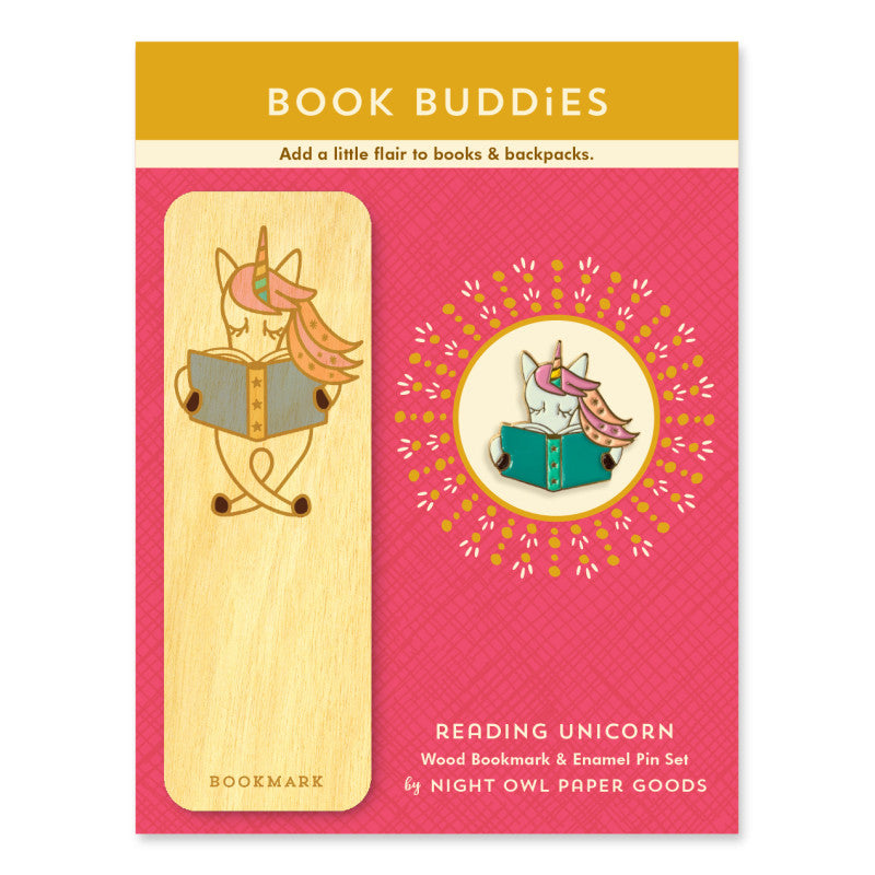 Book Buddies Gift Set - Reading Unicorn
