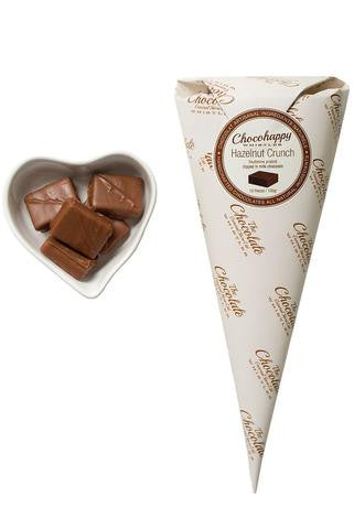 Chocolate Gift Cone - Hazelnut Crunch