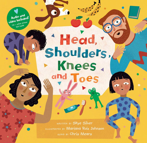 Head, Shoulders, Knees and Toes - With Audio & Video