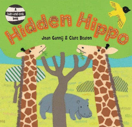 Hidden Hippo by Joan Gannij