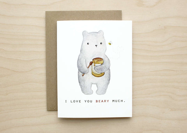 Art+Soul - I Love You Beary Much Card