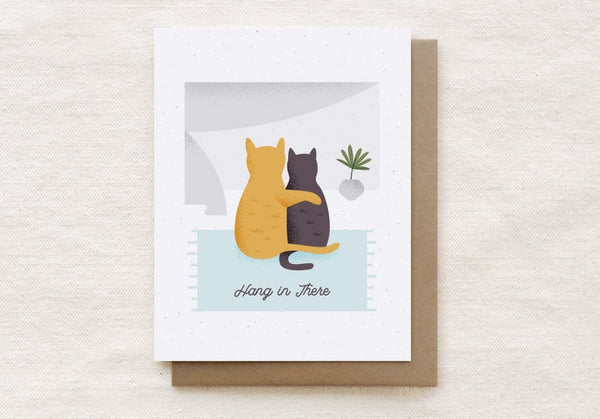Cat Cuddles Card