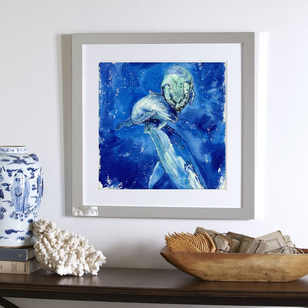 Beautiful Moment Humpback Whale Art Print
