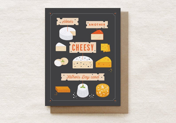 Cheesy Dad Card