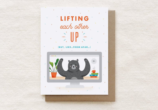 Lifting Each Other Up Card
