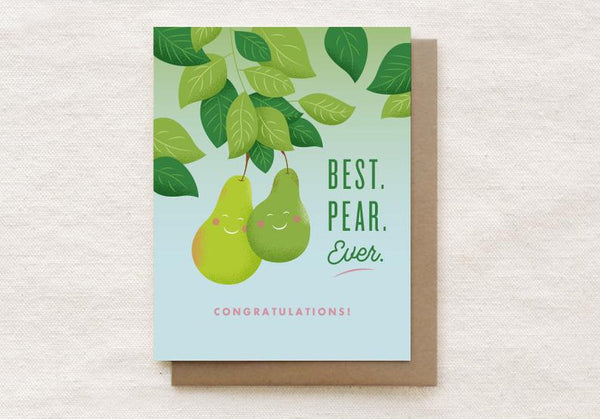 Best Pear Ever Card