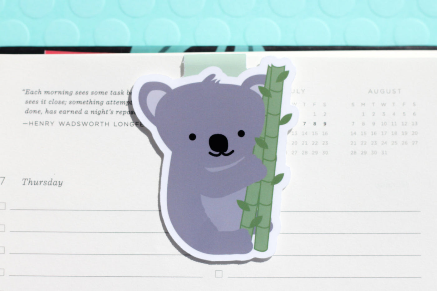 CraftedVan - Koala Magnetic Bookmark