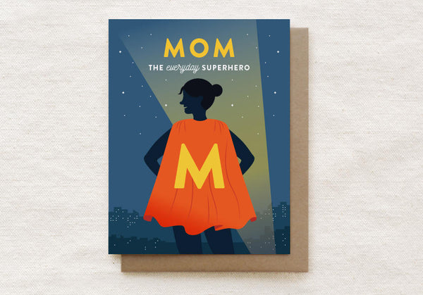 Superhero Mom Card