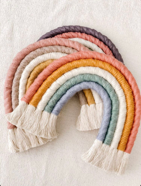 Rainbow Rope Art - Decor
