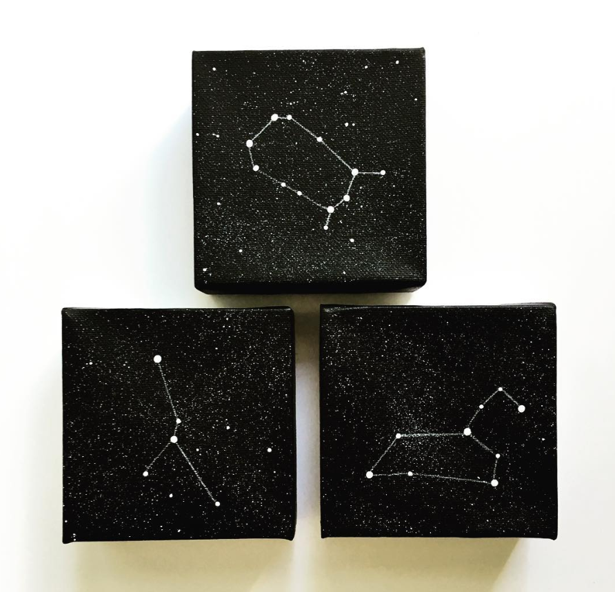 Original Painting  - Astrological Constellation