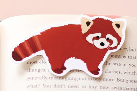 CraftedVan - Red Panda Magnetic Bookmark