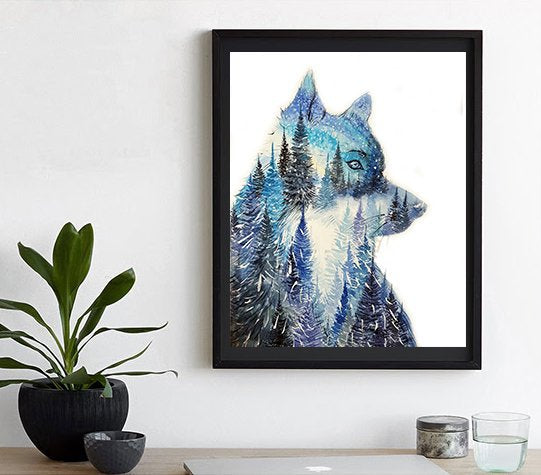 Elena Markelova - Leader of the Pack Art Print