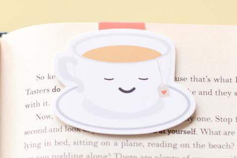 CraftedVan - Tea Cup Magnetic Bookmark