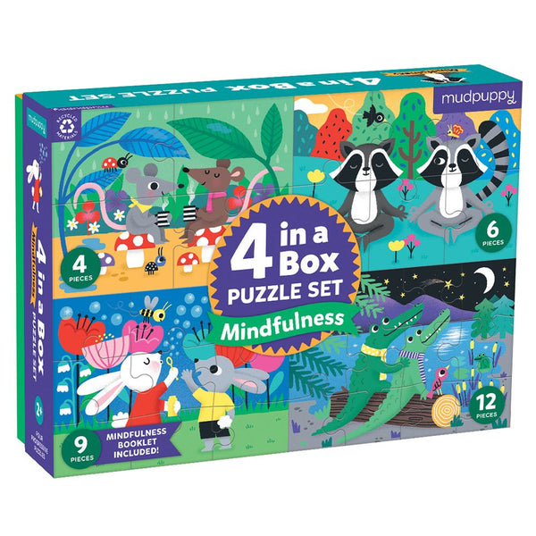 Mindfulness -  4 in a Box Puzzle Sets