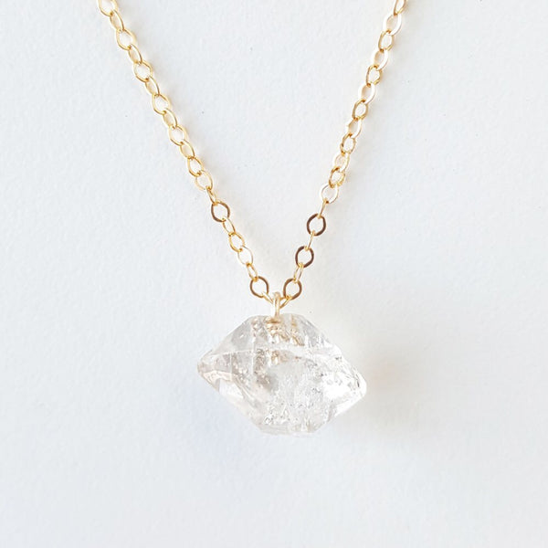 Clarity Necklace - Herkimer Diamond