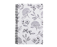 "Coiled Notebook  (Various Styles) 5.5"" x 8.5"""