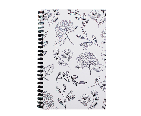 "5.5 x 8.5"" Coiled Notebook (Various Styles)"