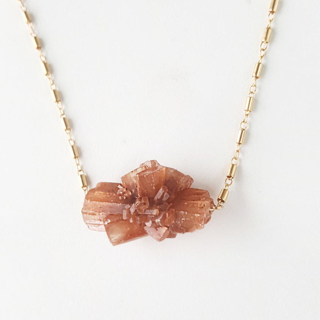 Earth Necklace - Aragonite
