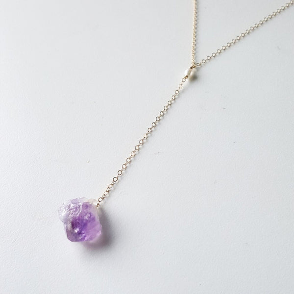 Pacific Light Necklace - Amethyst Third Eye