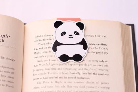 Panda Magnetic Bookmark