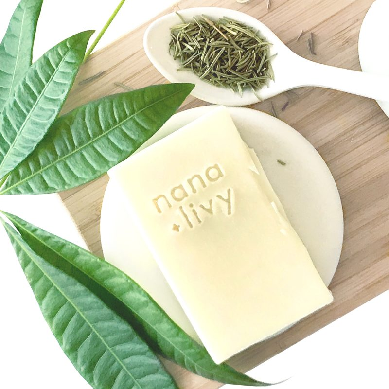 Rosemary and Tea Tree Shampoo Bar