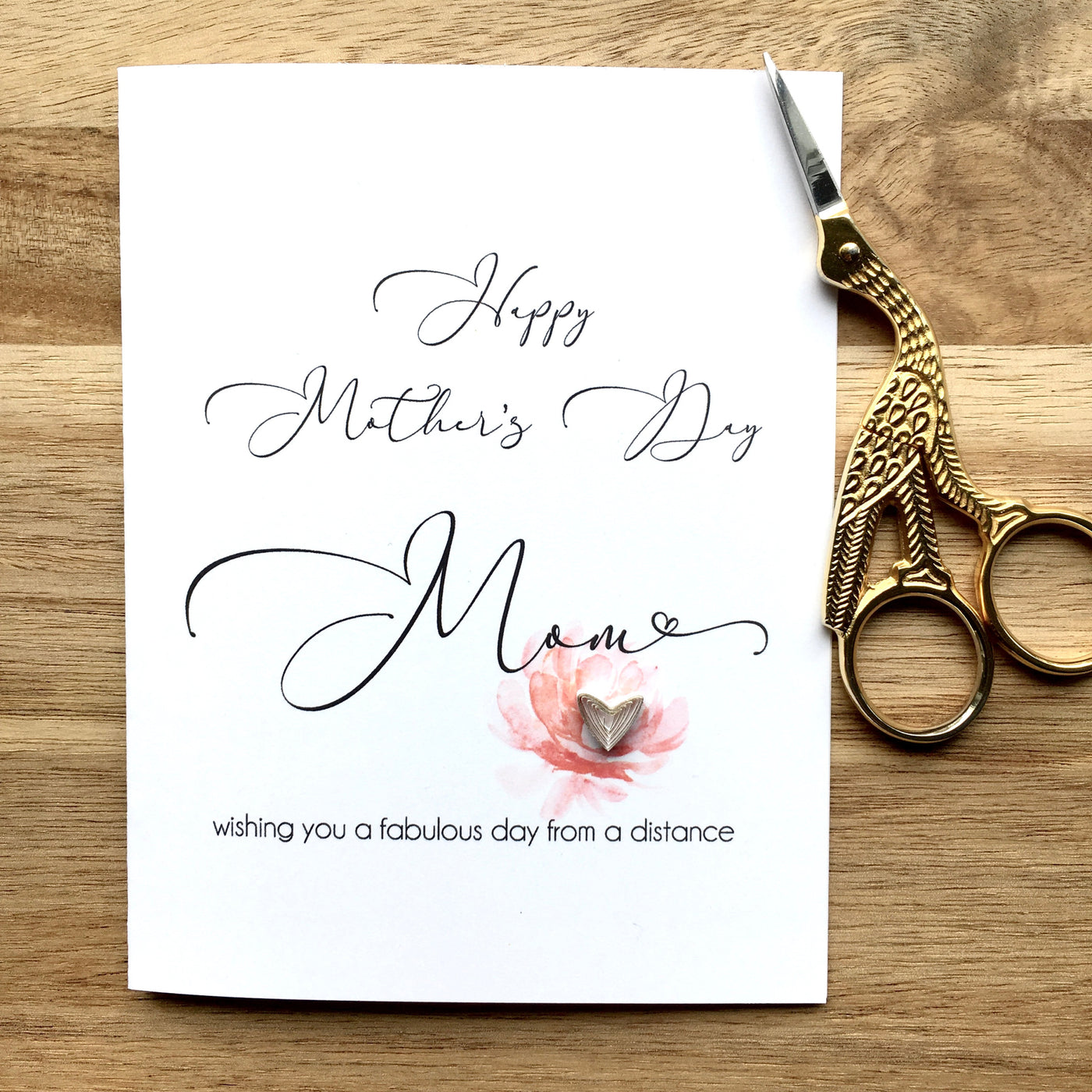 Happy Mother's Day From a Distance Card