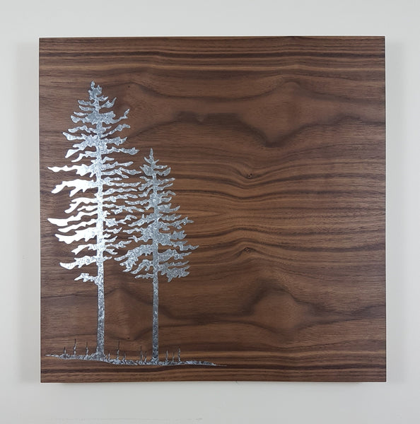 Magnet Board - Spruce Trees - Large