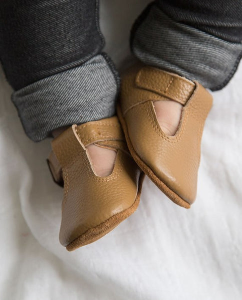 Aston Baby Shoes - Tan
