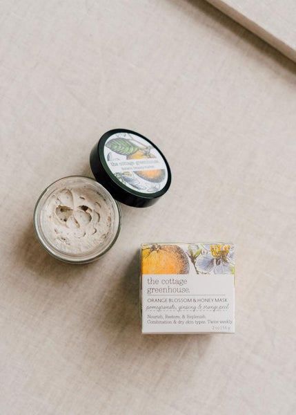 Face Mask - Orange Blossom & Honey