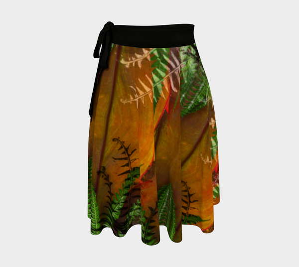 TRACHEID Wrap Skirt