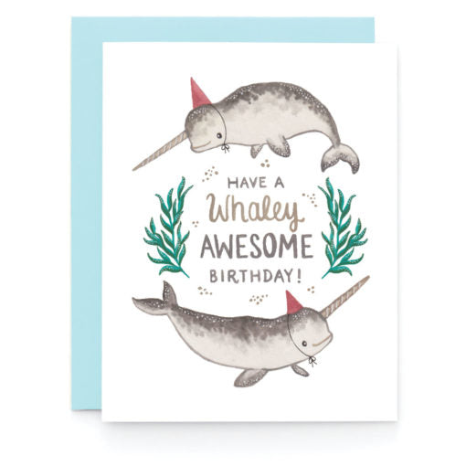 Whaley Awesome Birthday Card