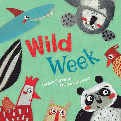 Wild Week Board Book