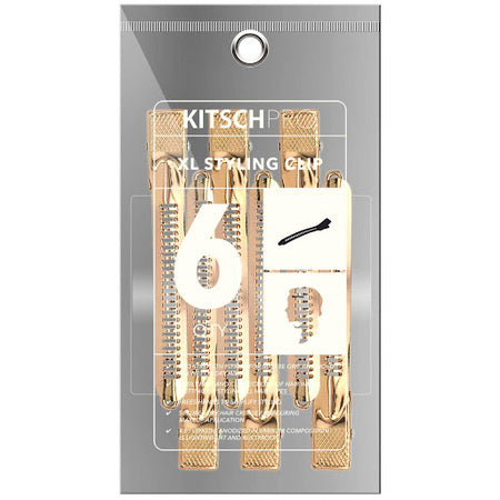 Kitsch XL Rose Gold Styling Clips